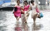 Mùa mưa trên Thành phố Hồ Chí Minh